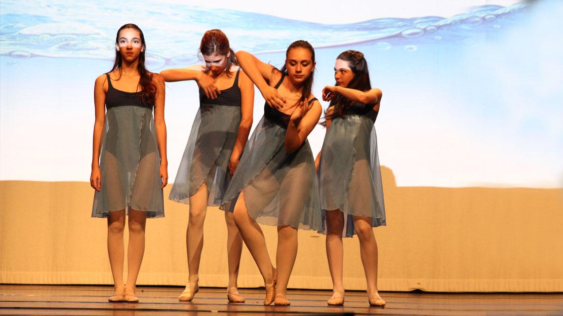 Danza moderna saggio